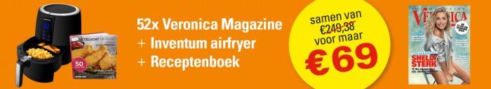 Tot en met 31 maart 2018 hebben we een zeer aantrekkelijke aanbieding: ontvang nu 52x Veronica Magazine, de Inventum GF25HLD… Lees verder
